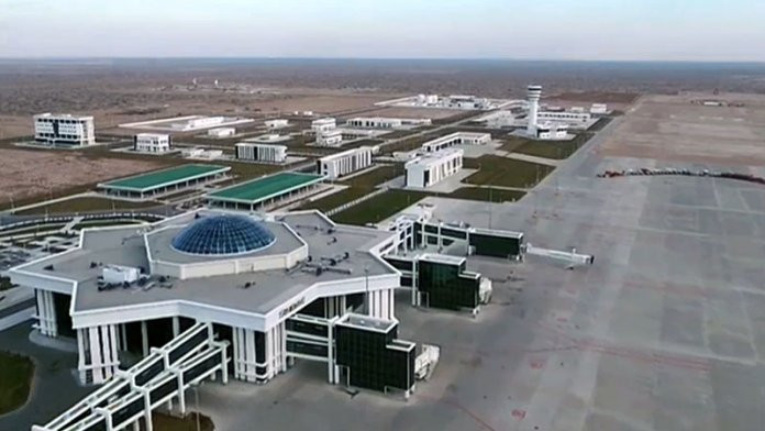 """Türkmənistanın hava limanı """"Ginnesin rekordlar kitabı""""na düşüb"""