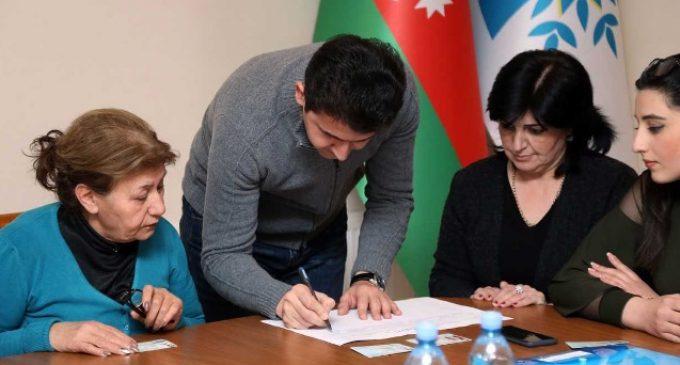 YAP İlham Əliyev üçün imzatoplama kampaniyasını yekunlaşdırdı