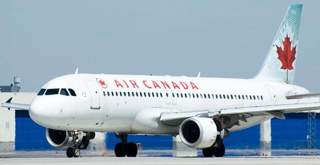 """""""Air Canada Express""""in təyyarəsi yanğın səbəbindən tərk etdiyi hava limanına qayıdıb"""