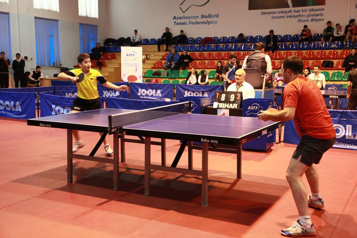 Stolüstü tennis üzrə Azərbaycan çempionatı başa çatıb-