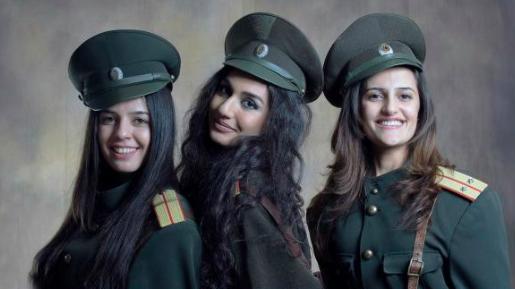 Ermənilərin yetişdirdiyi xüsusi təyinatlı qızlar