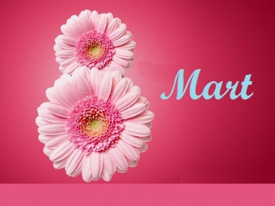 8 Mart Beynəlxalq Qadınlar Günüdür