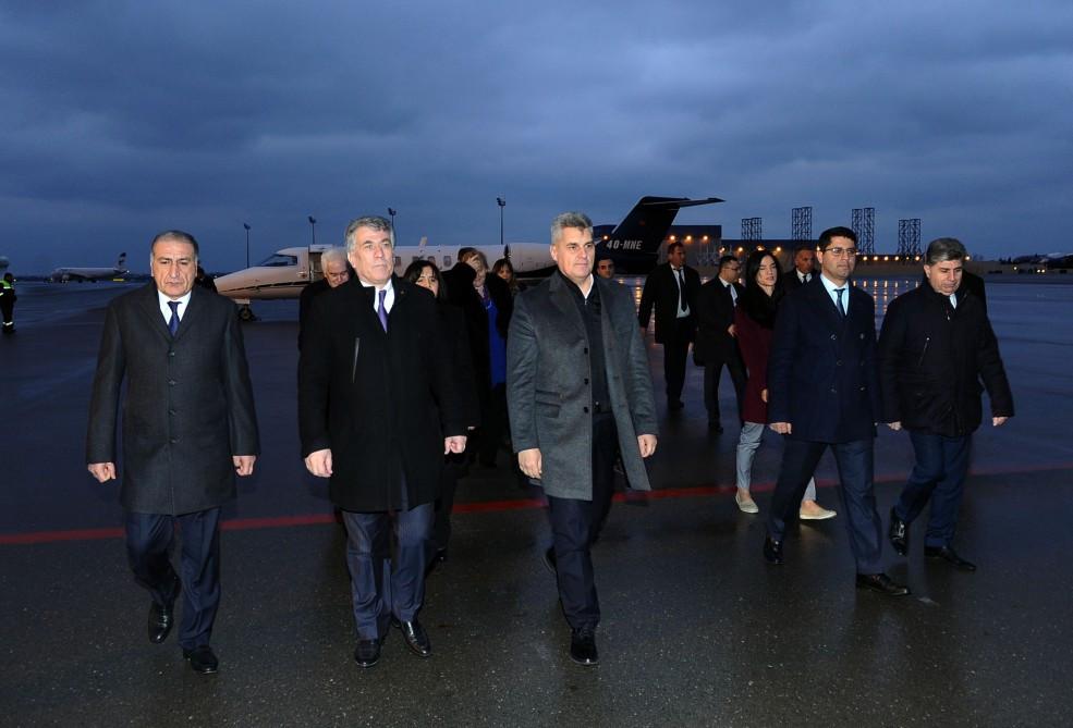 Monteneqro parlamentinin sədri Azərbaycana səfərə gəlib