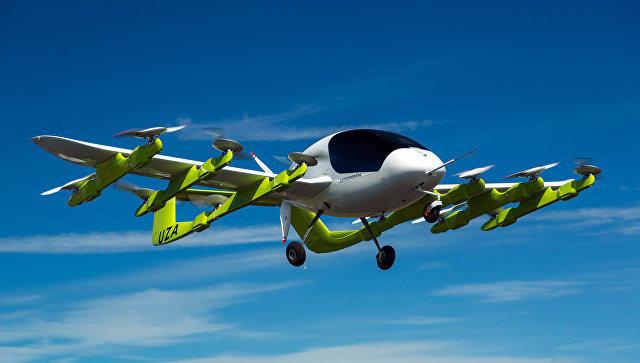 Dünyada ilk dəfə pilotsuz uçan taksi sınaqdan keçirilir