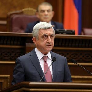 Serj Sarkisyan Ermənistanın yeni baş naziri seçildi