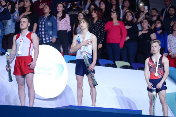 Azərbaycan gimnastı Avropa çempionu oldu