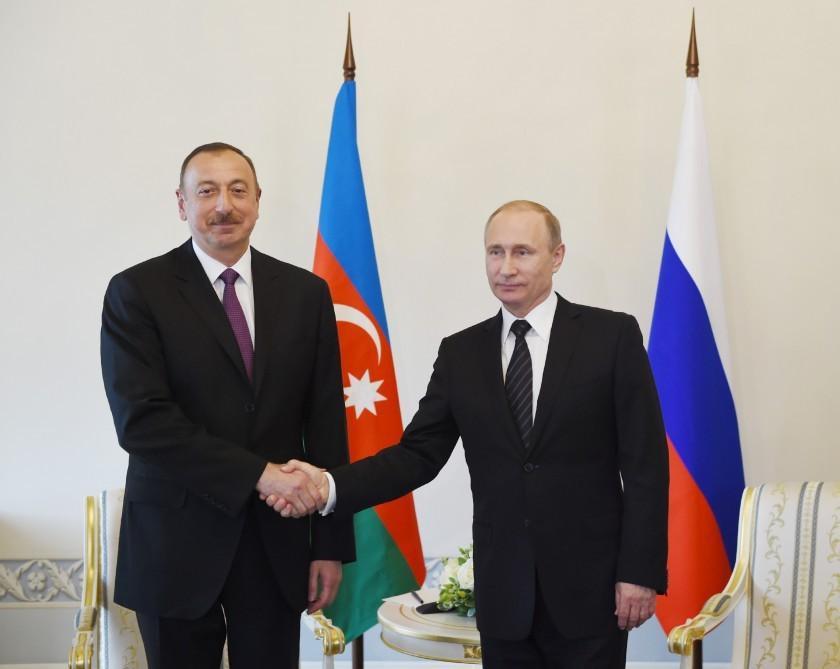 İlham Əliyev Vladimir Putinə başsağlığı verdi