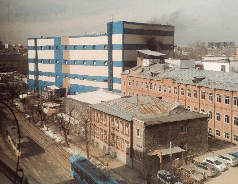 Rusiyada ticarət mərkəzində növbəti yanğın