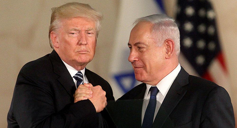 Tramp və Netanyahu Yaxın Şərqi müzakirə edib