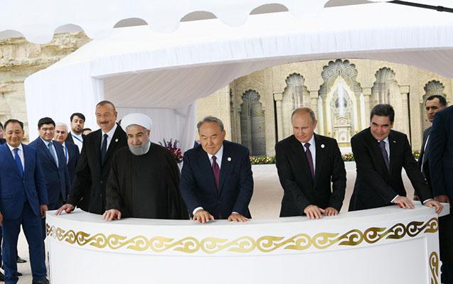 Prezidentlər Xəzərə nərə buraxdılar