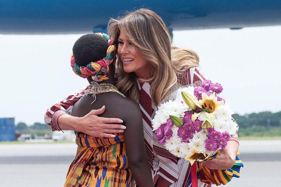 Melania Trump-ın ilk Afrika turu