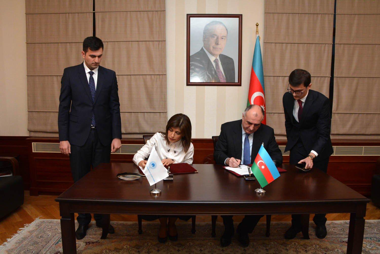 Azərbaycanla Türk Mədəniyyəti və İrsi Fondu arasında saziş imzalanıb
