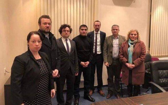 Avropalı diplomatlar Mehman Hüseynovla görüşdü