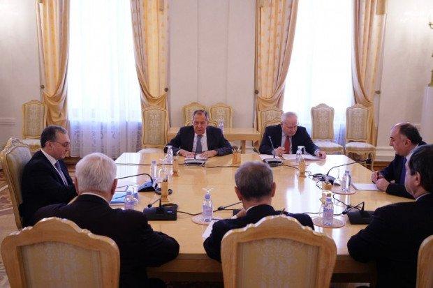 XİN nazirlərin Moskva görüşü barədə açıqlama yaydı