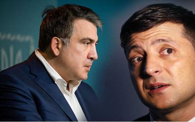 Saakaşvili Zelenskiyə məktubunda nə yazıb?