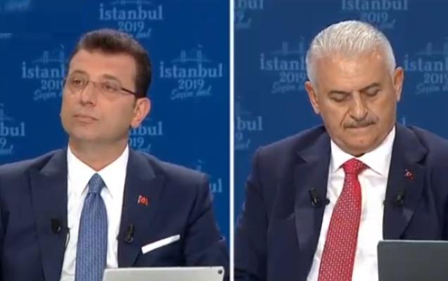 Əkrəm İmamoğlu canlı debatda Binəli Yıldırımı sıxışdırdı