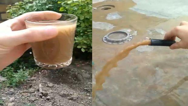 Bu rayonda içməli suyun yerinə palçıq axmaqa başlayıb