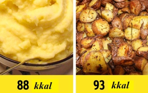 Qidaların hazırlanma qaydasına görə kalorisidə dəyişir