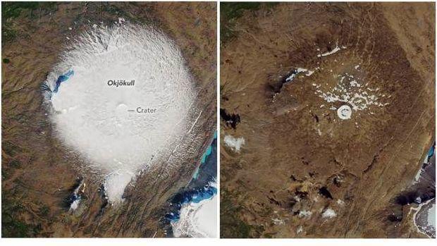 NASA iri buzların necə əridiyini göstərdi