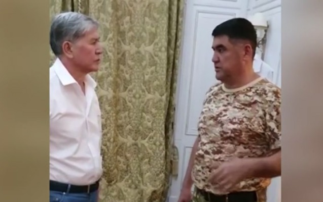 Qırğızıstanın Daxili İşlər nazirinin müavini vəzifəsindən azad edildi