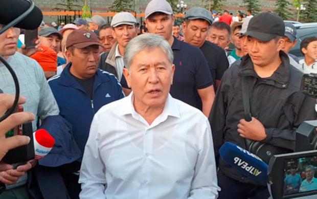 Atambayev çevrilişə hazırlaşıb