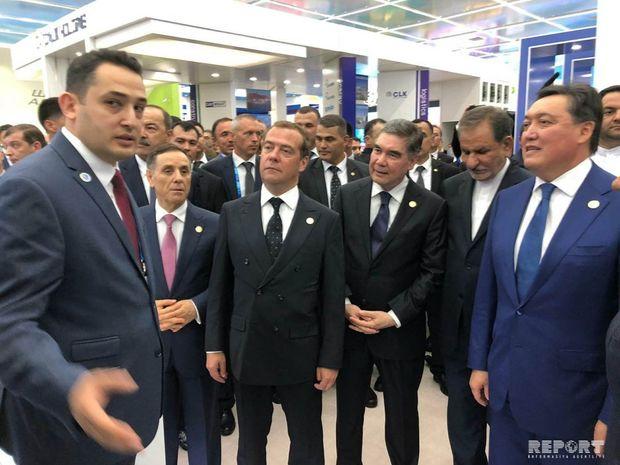 Azərbaycan Türkmənbaşıda keçirilən I Xəzər İqtisadi Forumunda iştirak edir
