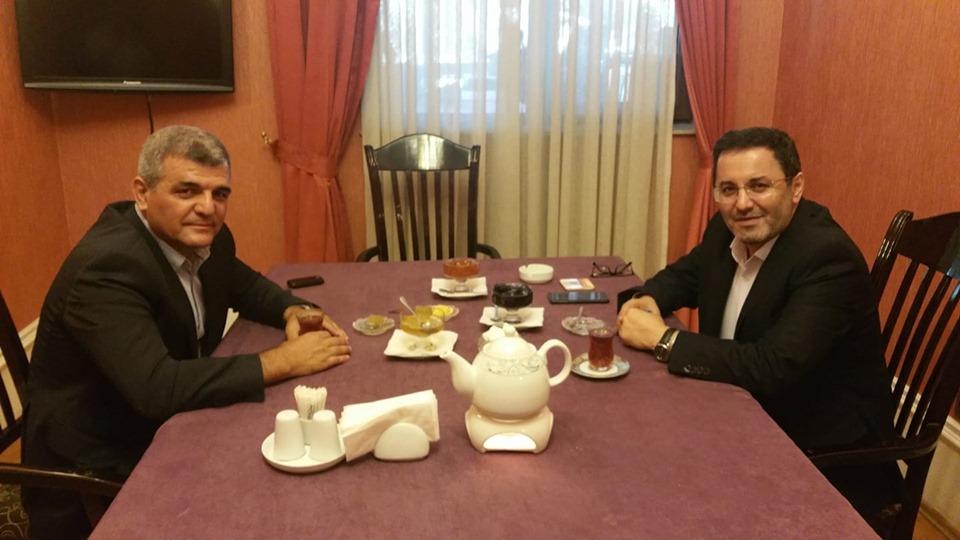 Fazil Mustafa İran səfiri Cavad Cahangirzadə ilə görüş keçirdi