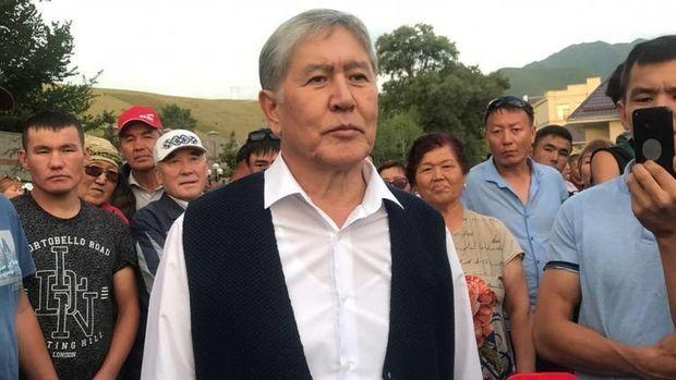 Atambayev  həbsxanaya yerləşdirildi