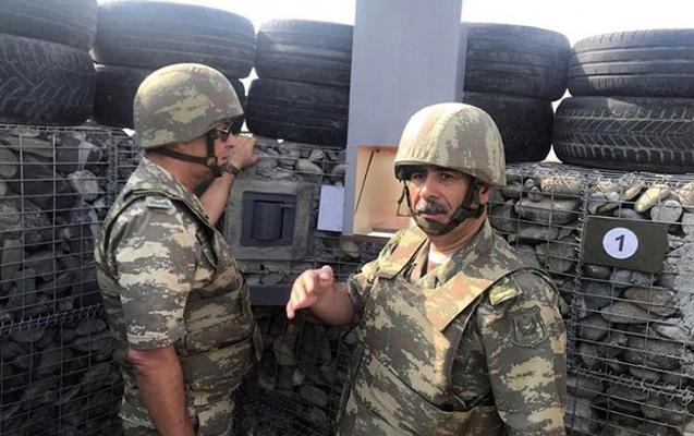 Zakir Həsənov hərbi qulluqçularla görüş keçirdi
