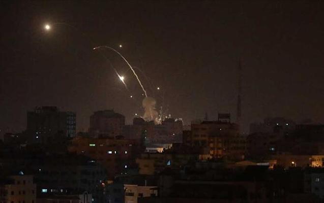 Rusiyaya məxsus hava qüvvələri İdlibi bombaladı