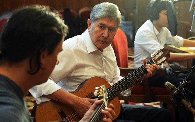 Image result for Atambayev həbs
