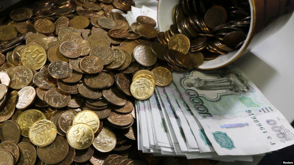 Rus rublu növbəti ABŞ sanksiya dalğası qarşısında dəyər itirdi