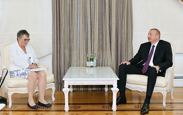 İlham Əliyev AŞPA prezidenti ilə görüş keçirdi