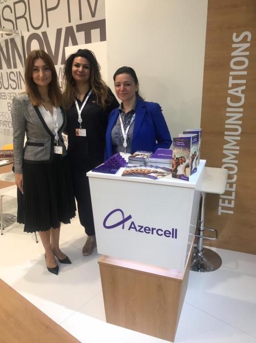 """""""Azercell"""" """"ITU Telecom World 2019"""" beynəlxalq sərgisində innovativ xidmətlərini təqdim edir"""