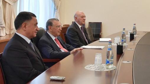 Ramiz Mehdiyev, Ramil Usubov və Fuad Ələsgərov bir arada