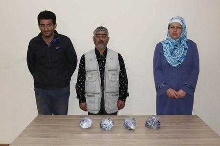 Ər-arvad İrandan Azərbaycana narkotik gətirmək istədi