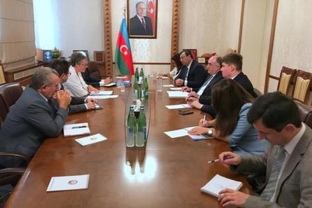 Elmar Məmmədyarov Avropa Şurası Parlament Assambleyasının prezidenti ilə görüşüb