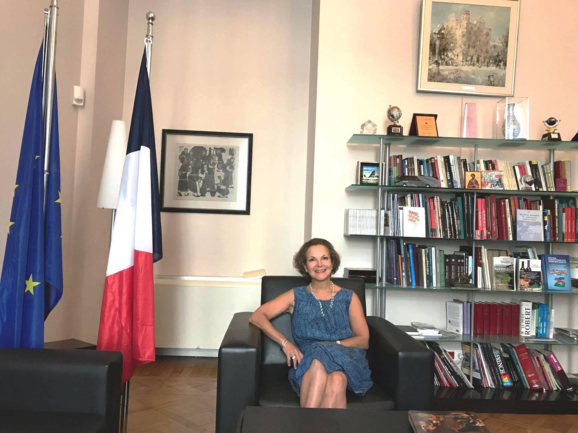 Fransanın Azərbaycandakı səfirinin diplomatik missiyası başa çatıb