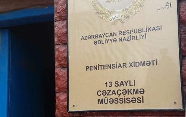 İşgəncə iddialarına əsasən 13 saylı həbsxanada monitorinq aparıldı