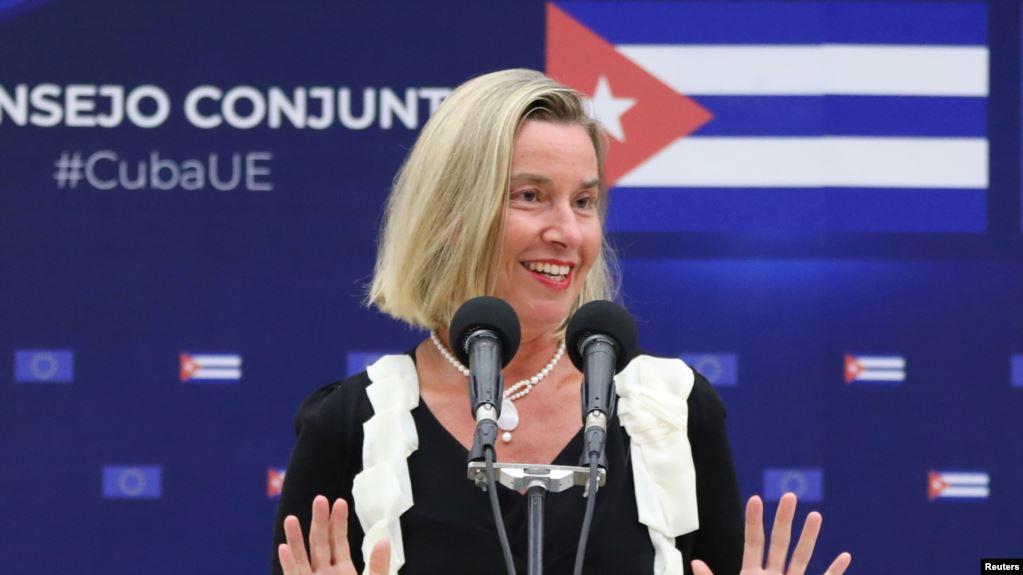 Avropa İttifaqı ABŞ sanksiyaları ilə üzləşən Kubaya yardım vəd edir