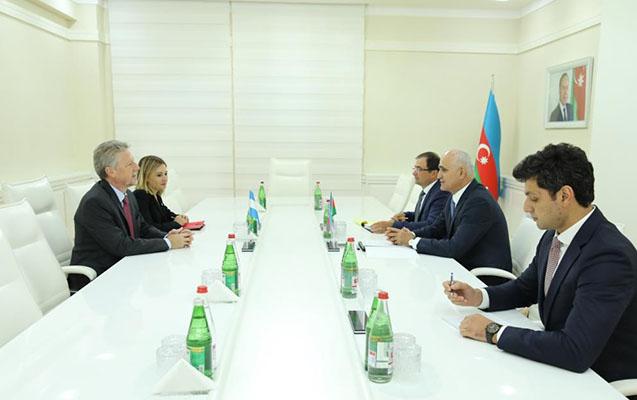 Azərbaycan-Argentina iqtisadi əlaqələri müzakirə edilib