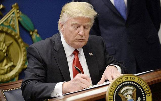 Tramp İranla bağlı təlimat verdi