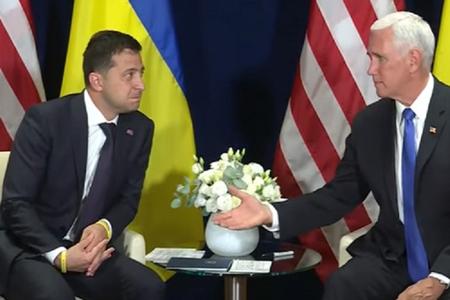 ABŞ-ın vitse-prezidenti Varşavada Zelenski ilə görüşüb