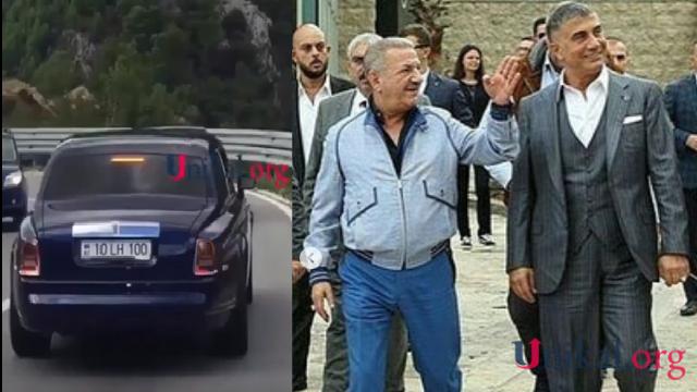"""Mafiya başçısı Azərbaycan nömrəli  """"Rolls-Royce""""la Telman İsmayılovun evinə getdi"""