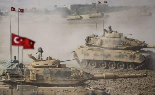Türkiyə ordusu Suriyaya girdi