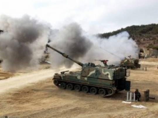 Türk artilleriyası Tel-Abyadda terrorçulara hücum etdi