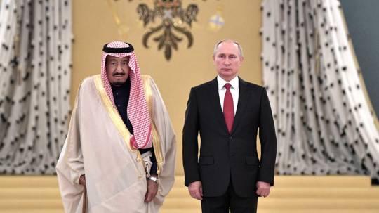 Putin kral Salmana qızılquş verdi
