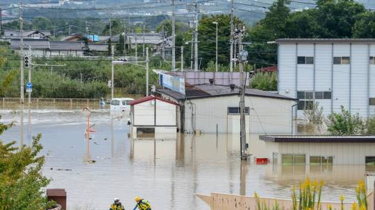 """Yaponiyada """"Hitachi"""" və """"Panasonic"""" şirkətlərinin zavodları su altında qaldı"""