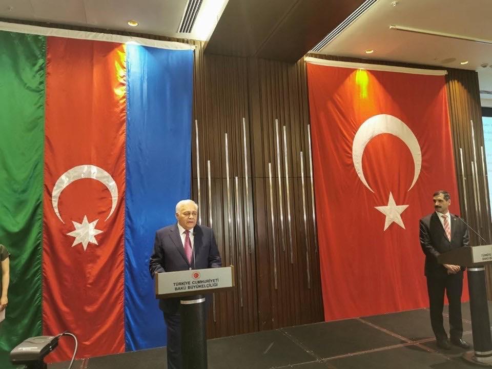 Türkiyənin Cümhuriyyət Günü Bakıda təntənəli qeyd edildi
