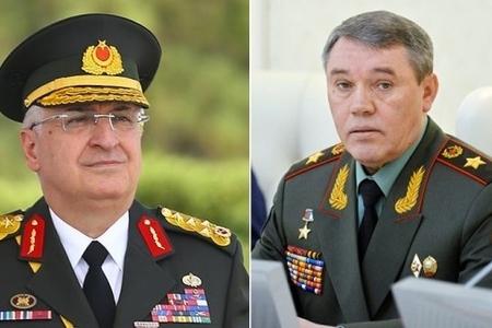 Türkiyə və Rusiyanın müdafiə nazirləri arasında telefon danışığı olub